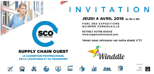 Winddle participe au Supply Chain Ouest le 4 avril