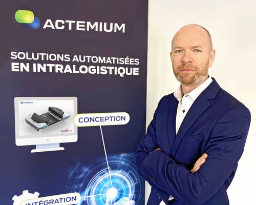 Actemium Lyon Logistics nomme Nicolas Dumortier Responsable d'affaires Grande distribution
