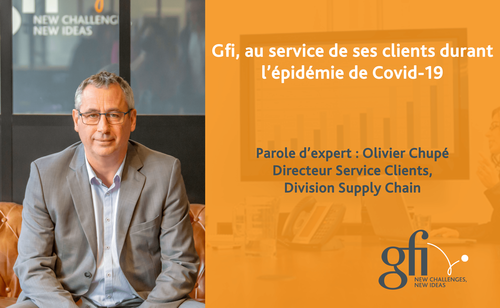 Olivier CHUPE, Directeur Service Clients – Division Supply Chain BL Software – Gfi