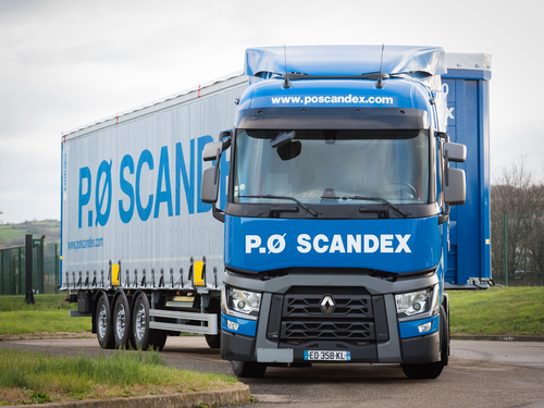 P.Ø Scandex optimise la gestion de son parc avec la solution TrailerLinc d'Astrata