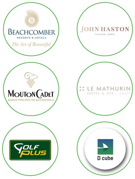Six marques prestigieuses se sont associées à la SITL Golf Cup pour offrir des lots