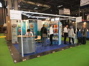 Le stand d'Inotec sur le Salon Manutention